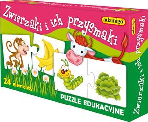 Edukacyjne puzzle dla małych i dużych
